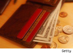 cash, credit card, debit, ATM card, wallet