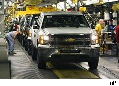 GM assembly line