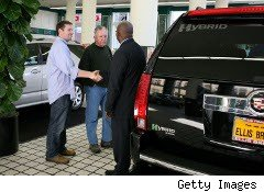 Dealer shows a Cadillac hybrid