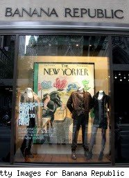 Banana Republic store window