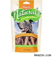 Hartz Naturals dog treats recall.