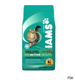 Iam cat food recall