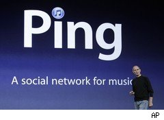 Apple's Ping music service