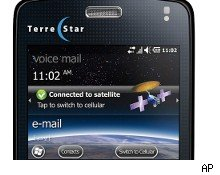 AT&T plans to start selling the first satellite smartphone, TerreStar Genus, on Tuesday.