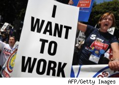 Workers rally for more jobs