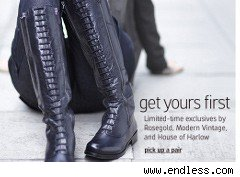Boots on sale at endless.com