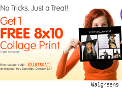 Free photo collage from Walgreens