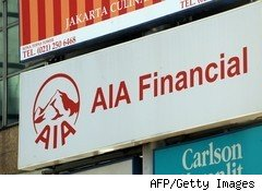 AIA, AIG's Asian life insurer