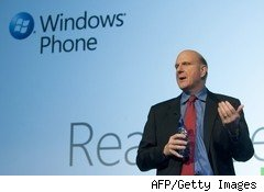 Windows Phone 7 with Steve Ballmer
