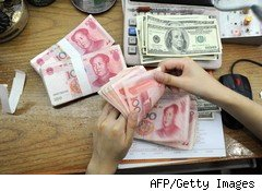Currency war: yuan and dollars