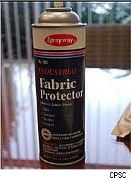 Fabric spray recall