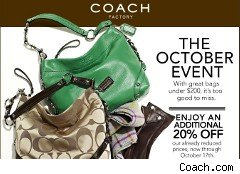 Coach coupon