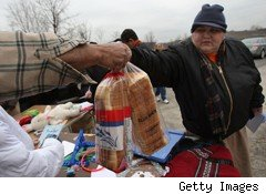 food pantry poverty