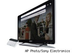 Sony plans to launch sales of its line of Google TV sets online Saturday and via Best Buy next week.