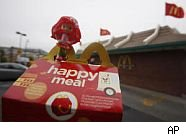 Proposed fast food kid meal ban in San Francisco.