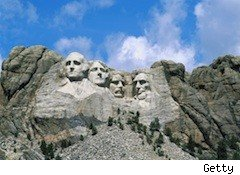Mt. Rushmore - S. Dakota is the best tax state