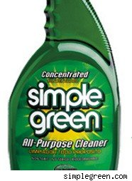 simple green cleaner bottle