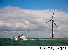 Offshore wind farm for sustainable business