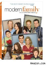 DVD box for the first season of Modern Family