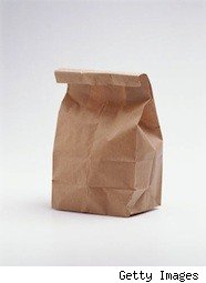 a brown bag lunch