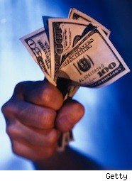 fistful of dollars - personal income, consumer spending, down