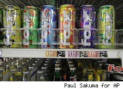 Four Loko alcoholic energy drinks