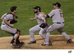 San Francisco Giants win 2010 World Series