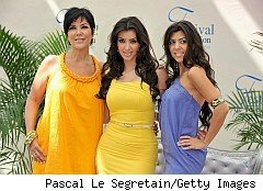 Kris, Kourtney, Kim Kardashian, purveyors of Kardashian prepaid card