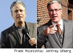 Why Jon Stewart Matters More Than Keith Olbermann