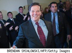 The money-laundering trial of former Rep. Tom DeLay, pictured here in 2006, kicked off this week.