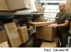 UPS Predicts 7.5% Jump in Holiday Season Shipping for 2010