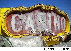 old casino sign - wasteful spending