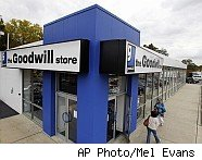 Goodwill store; a money-saving innovation