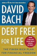 david bach book cover - debt free for life
