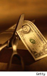 dollar cut in half - bad money habits