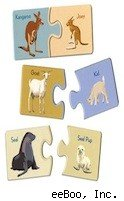 eeBoo baby animal puzzle - top toys kids special needs