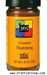 Whole Foods nutmeg