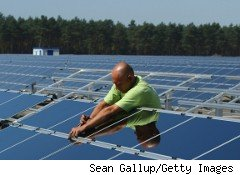 First Solar, which made the solar panels for this installation in Germany, expects its sales to grow 46% in 2011.