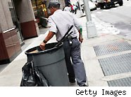 garbage men -how much to tip