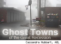 ghost towns of th
