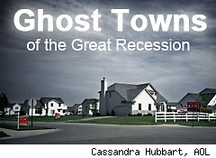 ghost towns foreclosure