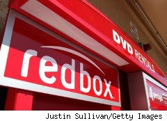 Redbox DVD kiosk