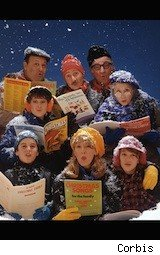 Christmas carolers - Friday Freebies -- free freebies