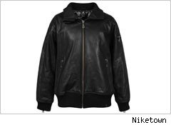 Michael Jordan leather jacket