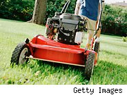 lawnmower - how much to tip