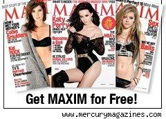 Maxim Magazine covers