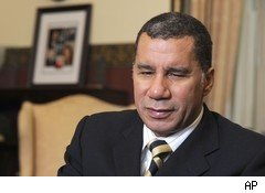 N.Y. Gov. David Paterson