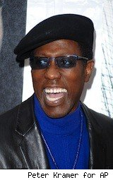 Wesley Snipes  - Snipes goes to jail for tax evasion