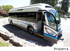 Proterra bus first electric bus