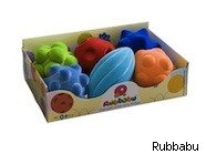 Rubbabu assorted ball set - award winning tpys kids special needs